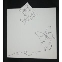 BESP29 Envolée de papillons